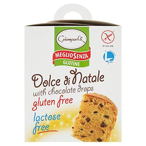 Giampaoli Dolce senza Glutine e senza Lattosio con Gocce di Cioccolato - 3 Confezioni da 400 g