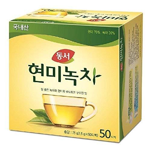 Dong Suh Brown Rice Green Tea 50 Teabags 75g