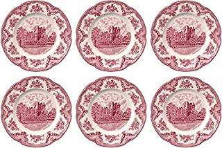 Johnson Brothers Old Britain Castles Pink Dinner Plates 10