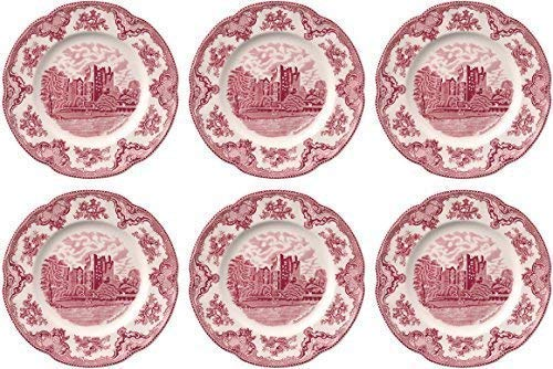 Johnson Brothers Old Britian Castles Pink Dinner Plate 25cm