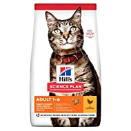 Hills Science Plan Adult Dry Cat Food Chicken 1.5kg (Single Dry Chicken)