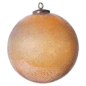 "Add to this year's tree for an extra special touch Include in a tabletop decoration for extra flare Hang on the handle of a cabinet 8""L x 8""W x 8. 25""H"