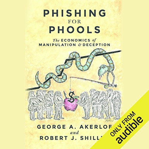 Phishing for Phools audiobook cover art