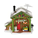 Department 56 Snow Away from Home Fish Shack Village Lit Building, Multicolor