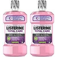 2-Pack Listerine Total Care Alcohol-Free Anticavity Mouthwash (2 X 1L)