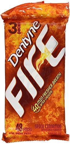 Dentyne Fire Spicy Cinnamon Sugar Free Gum – 48ct