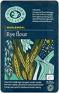 Doves Farm Wholemeal Rye Flour - 1kg (2.2lbs)