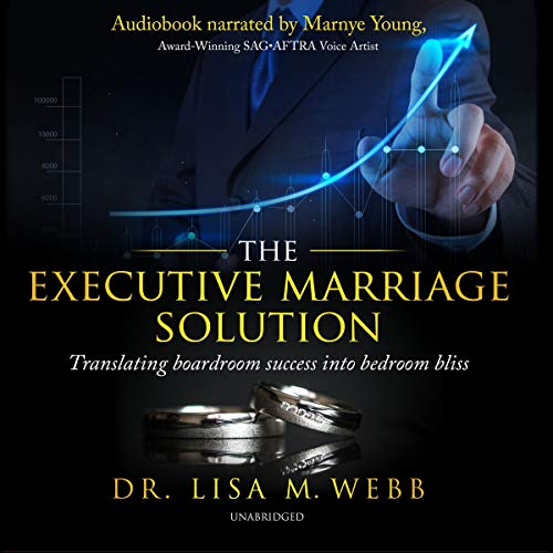 The Executive Marriage Solution audiobook cover art