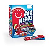 Airheads Candy Bars, Variety Stocking Stuffers Bulk Box, Chewy Full Size Fruit Taffy, Gifts, Back to School for Kids, Non Melting, Party 90 Count (Packaging May Vary)