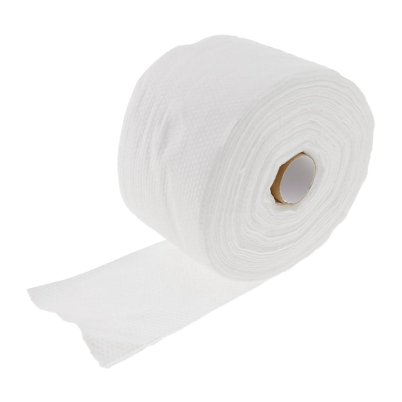 異議急降下スポークスマンKesoto ロール式 使い捨て 洗顔タオル 使い捨てタオル 30M コットン 繊維 メイクリムーバー 2タイプ選べる - #2