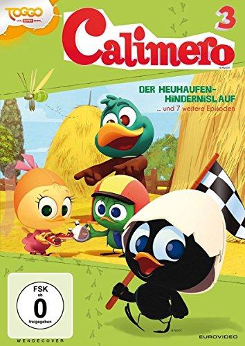 Calimero 3 - Der Heuhaufen-Hindernislauf und 7 weitere Episoden