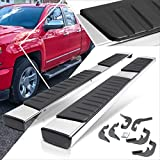 6 Inches Chrome Running Board Side Step Nerf Bar Compatible with Chevy Silverado/GMC Sierra Ext Cab 07-19