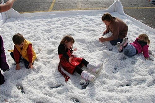 SNOWONDER Instant Snow Fake Artificial Snow, Also Great for Making Cloud Slime (180 Gallons)