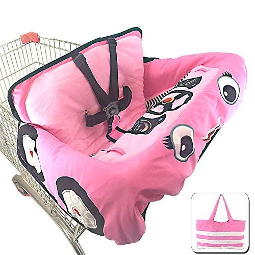 lembrd boodschappenwagentje voor baby's, boodschappenwagentje, kussen, de stoelbescherming, veiligheid op reis, draagbaar kussen