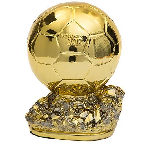 Aida Bz Trophée Golden Globe, passen de Football Trophée du joueur Souvenirs de Fans Personnalisables gratuites,H21cm