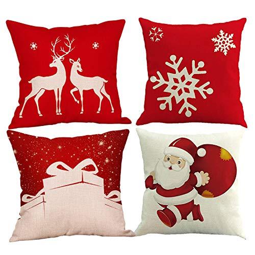 Daringjourney UK - Funda de almohada decorativa para decoración del hogar, 45 x 45 cm