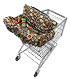 Infantino Compact 2-in-1 Shopping Cart Cover, Neutral