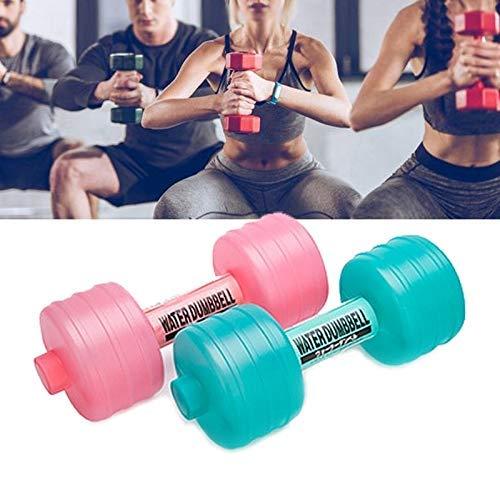 SXXYTCWL Wasser Injection Kunststoff Hantel Langhantel Fitnessgeräte for Damen (zufällige Farbe Lieferung) (Farbe: Gelegentliche Farbe Delivery) jianyou (Color : Random Color Delivery)