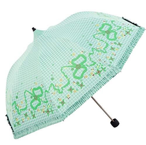 Sonnenschirm Sonnenschutz UV-Lichtkuppel Regenschirm Regenschirm mit doppeltem Verwendungszweck Regenschirm