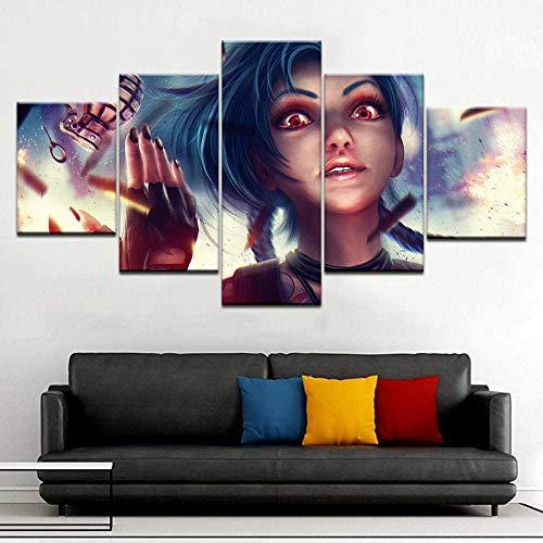 Múltiples paneles Arte de pared Imágenes de barcos de fant