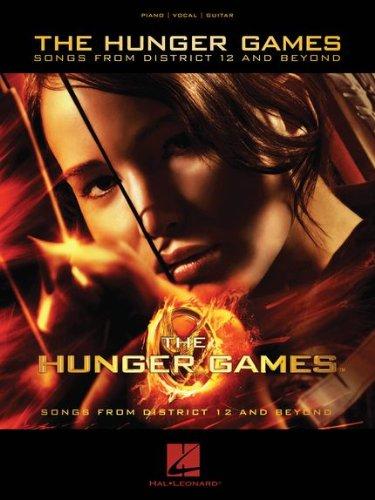 Music sales-partitions Spalte von Sonore Hunger games-arrangiata für Klavier Gesang und Gitarre