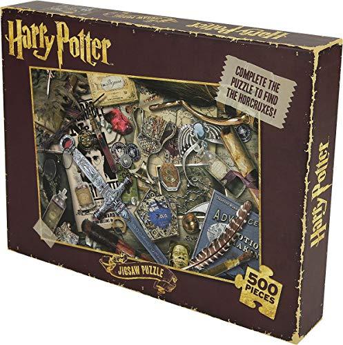 HARRY POTTER Puzzle 500 pièces Lord Voldemort, en Couleurs, Standard, référence PUZZHP06