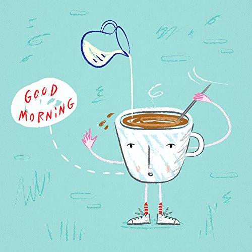 Kaffee Buzz–Kunst Poster drucken by Oliver Lake
