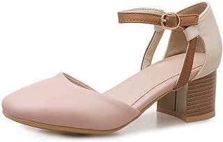 BalaMasa Womens ASL06211 Pu Heeled Sandals