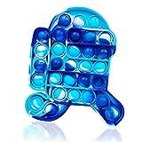 Push Pop Bubble Sensory Fidget Toy Stress Relief Special Needs Silent Classroom for Kids Adults Relief Finger Toys Autismo Necesidades Especiales Aliviador del Antiestrés del Juguetes Sensorial Fidget
