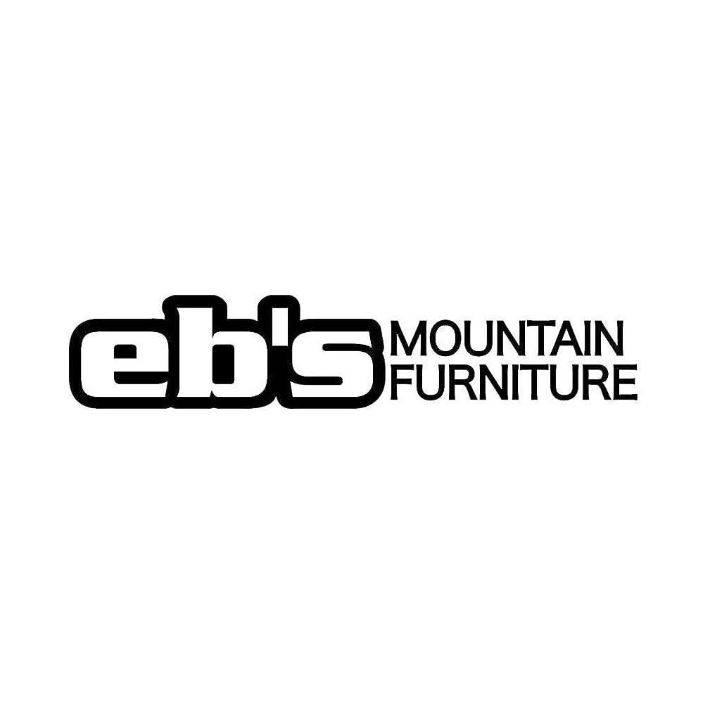 スクリーチ障害者不足eb's (エビス) ステッカー熱転写型抜きタイプ MOUNTAIN FURNITURE マウンテン?ファニチャー カッティングシール スノーボード