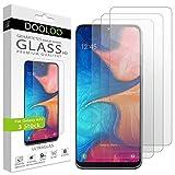 Dooloo Ultraglas HD Panzerglas [3 Stück] kompatibel mit Galaxy A41 Kratzfeste Panzerfolie 9H Hart Glas Folie mit optimalem Bildschirmschutz blasenfreie Schutzfolie