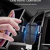 N/A Supporti per Cellulari Aria Condizionata per Auto Uscita Aria Supporto per Cellulare Alluminio con Tappetini Antiscivolo Clip Supporto per Telefono Automatico Accessori per Auto Interni