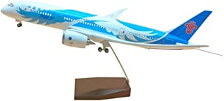 43Cm Boeing 787 Southern Airline Airplane Model Civil Airliner with Voice Control, 1:130Scale,LED Light,Ornaments
