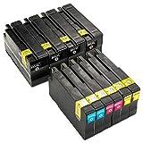 ESMOnline - 10 cartucce XL compatibili (4 colori) per HP 953 a HP OfficeJet Pro 8210 8216 8218 8710 8715 8718 8719 8720 8725 8727 8728 8730 8732 M 8740 Wide Format 7720 7730 7740