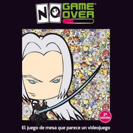No Game Over-Juego de Cartas, Multicolor (0701197944466)