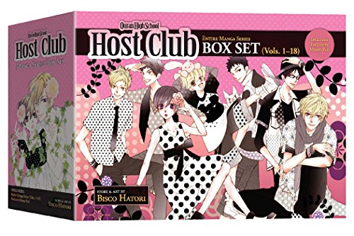 Ouran High School Host Club Complete Box Set: Volumes 1-18 with Premium