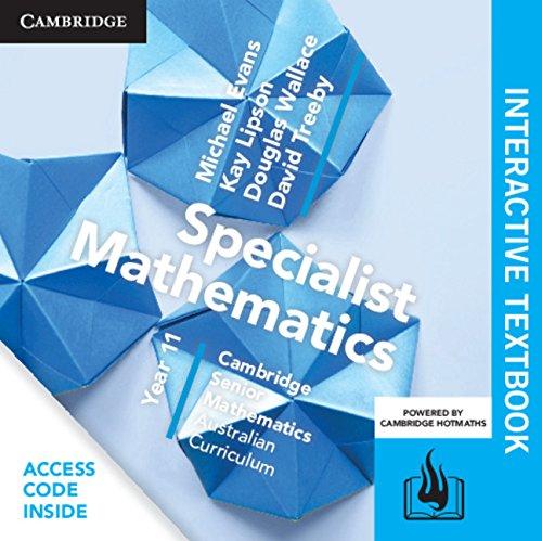 CSM AC Specialist Mathematics Year 11 Digital (Card)