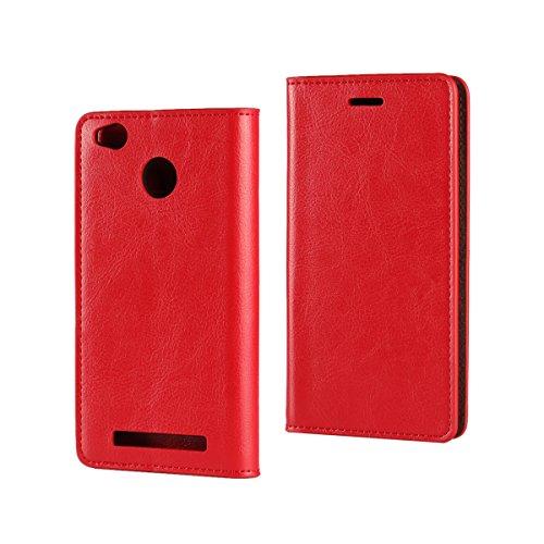 Copmob Funda Xiaomi Redmi 3S,Funda Redmi 3S,Premium Flip Bil