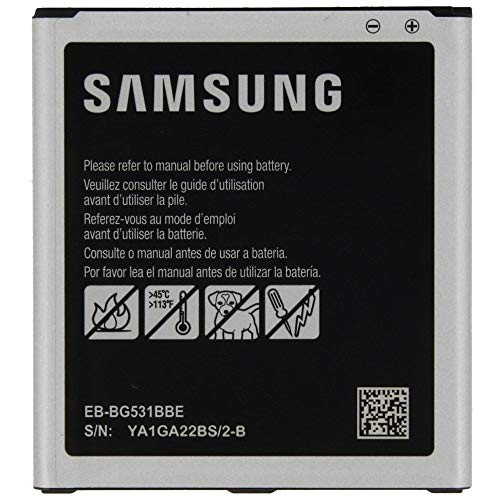 TPC - Bateria Original Samsung EB-BG531BBE para Samsung Galaxy J5, 2600mAh, Bulk