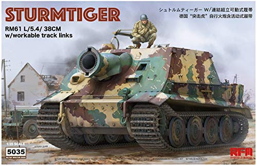 Rye Field Models 5035 1/35 Sturmtiger (workable Tracks)