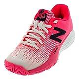 New Balance - Zapatillas de tenis para niña Rosa Alpha Pink
