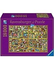 Ravensburger 178254 Puzzel Colin Thompson Magical Bookcase - Legpuzzel - 18000 Stukjes