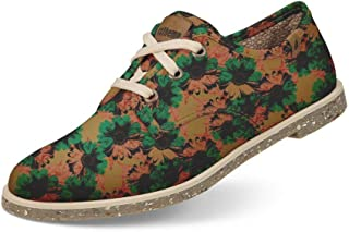 Sapato Usthemp Legend Vegano Casual Estampa Art Floral