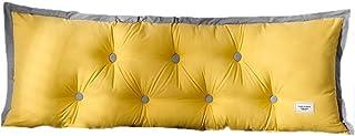 Oreillers Grand Coussin de Lecture cale Triangulaire tête de lit Support de positionnement de Dossier pour lit de Jour lit...