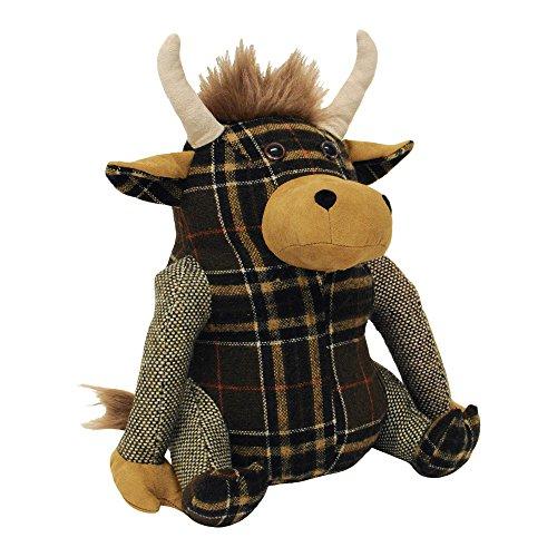 Riva Home - Tope para Puerta Modelo Highland Cow (Talla Única) (Marrón)