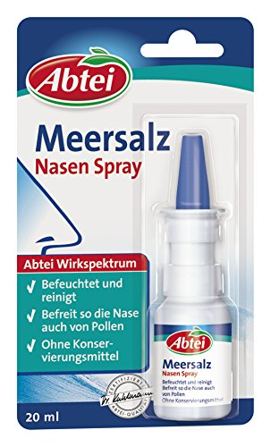 Abtei Meersalz Nasenspray, 20 ml