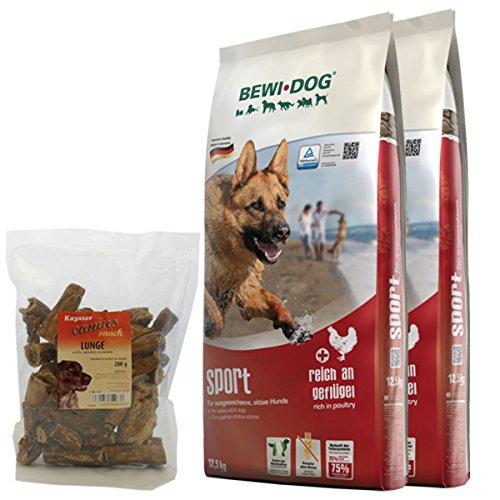 Bewi Dog 2 x 12,5 kg Sport + 200 g Canius Lunge