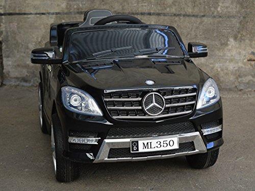 RC Kinderauto kaufen Kinderauto Bild 1: Mercedes Benz ML 350 Kinder Elektro Auto - Original Lizenz Daimler - Vollausstattung - LED Beleuchtung - Vollgummi - USB - Bluetooth - Kinderauto*