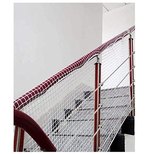 Child Safety Net Protection Climbing Frames Child Protection Net, Safety Fence Net Rope Net Cat Net Weaving Net For Balcony Stair Bed Fence Anti-fall Decoration Football Net Goods Network 1x7m