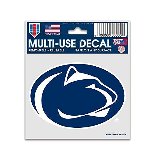 WinCraft NCAA Penn State University 91296010 Multi-Use Decal, 3  x 4
